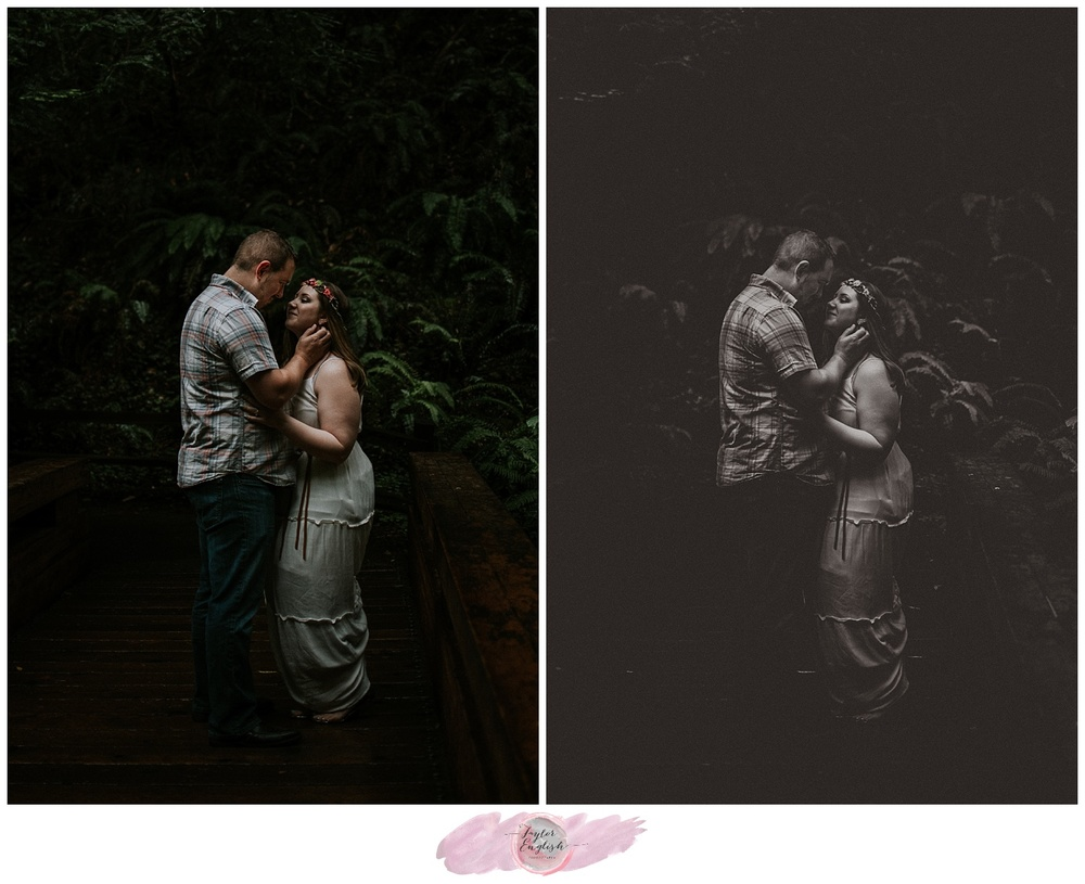 The most stunning light for beautiful engagement photos.