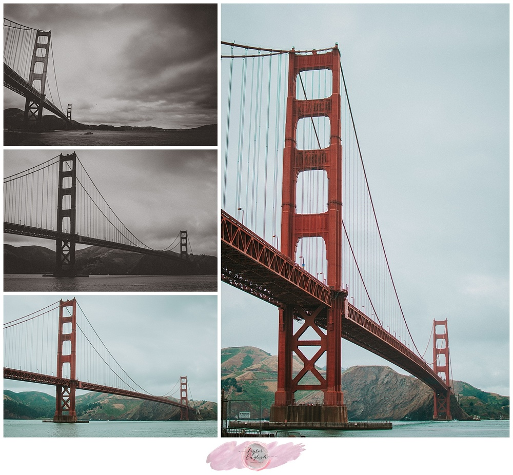 Photos don't do the size of the Golden Gate Bridge justice.