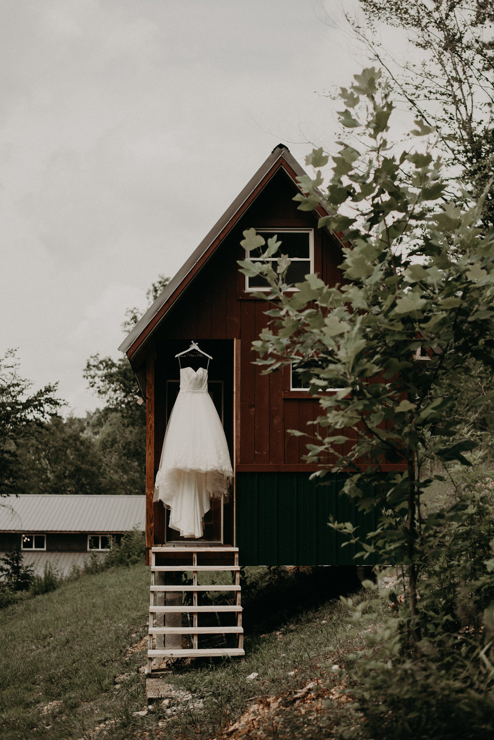 Summer Camp Cabin Wedding at Pigeon Mountain Crossing in Lafayette Georgia