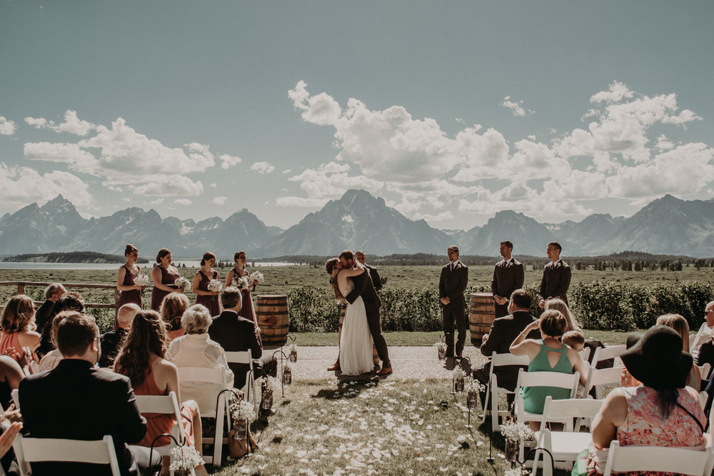 Jackson Lake Lodge Wedding in Grand Teton National Park Wyoming