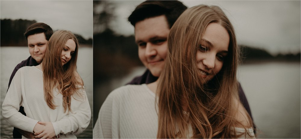 Oak Mountain State Park in Birmingham, Alabama engagement session
