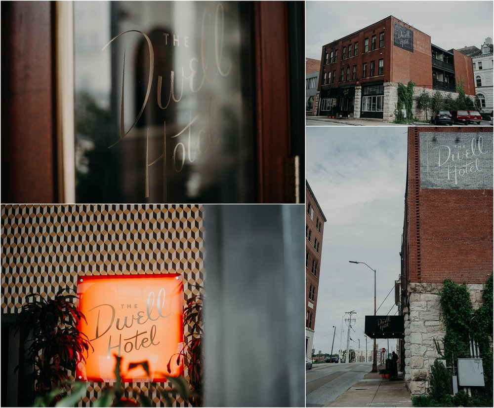 Chattanooga, TN's mid-century modern boutique hotel, The Dwell Hotel