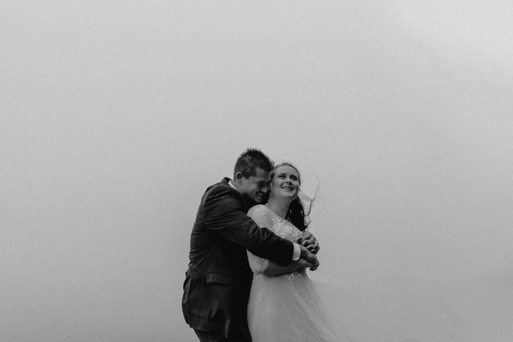 Chattanooga, Tennessee elopement in the clouds