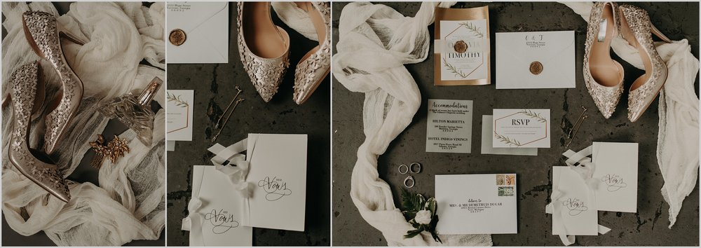 Timeless stationary by Interprintations and beautiful bridal accessories