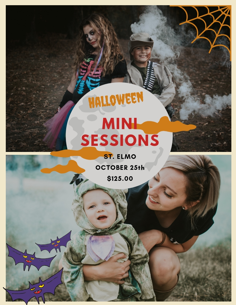 Halloween Mini Sessions in Chattanooga, Tennessee