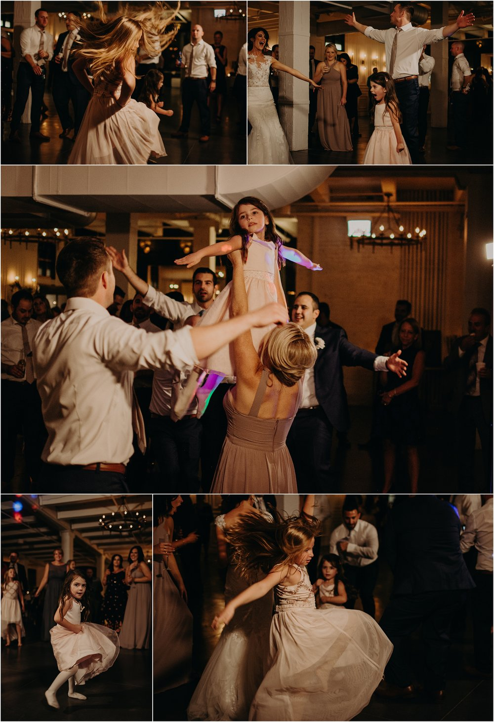 The Greatest Showman is Evie's favorite album, played during the reception