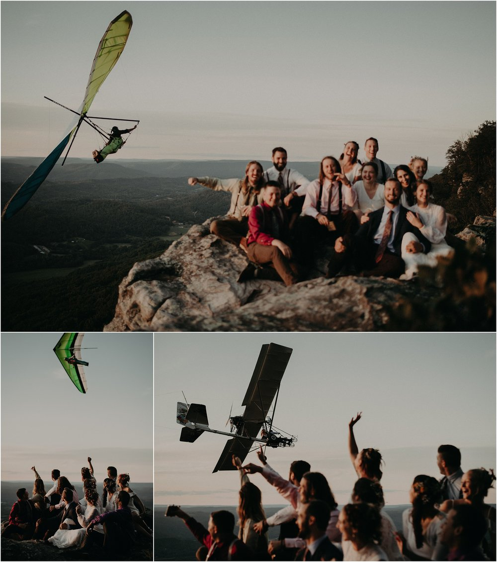Lookout Mountain Hang gliding overlook