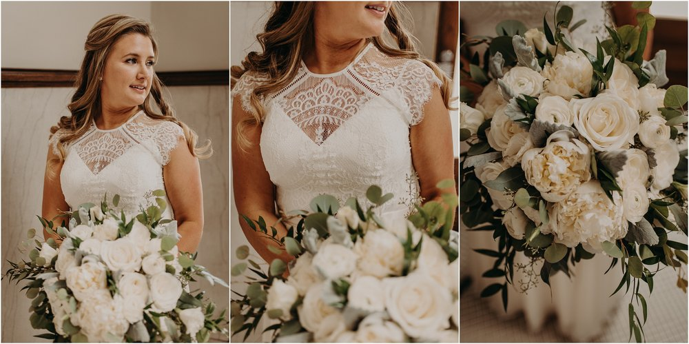 Bride's bouquet designed by May Flowers Chattanooga