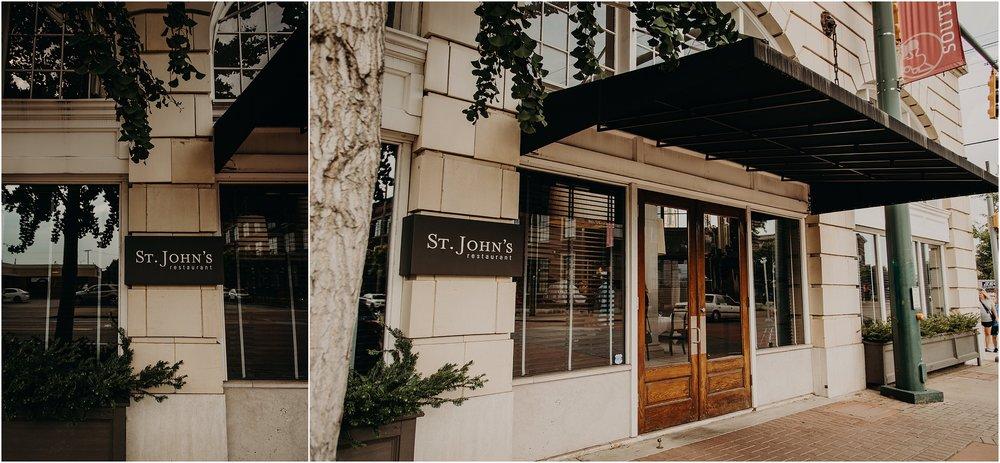 St. John's Restaurant on Market Street in Chattanooga, TN
