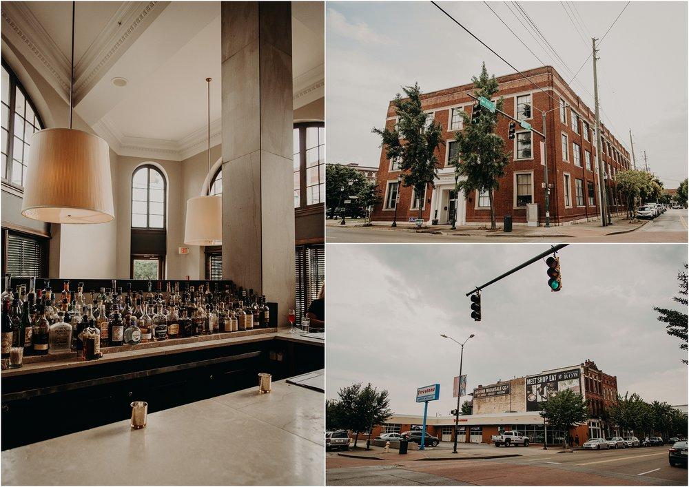 Urban views of downtown Chattanooga, TN
