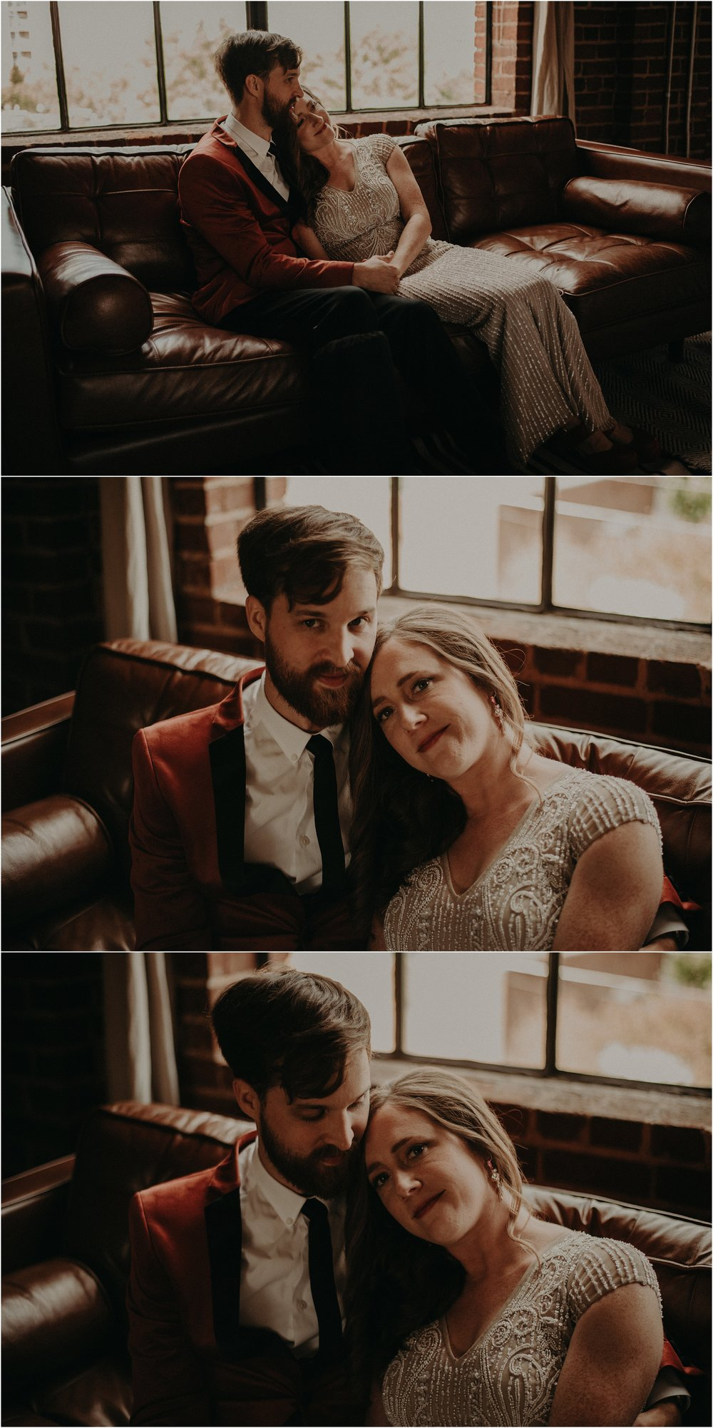 The last moments before they're officially husband and wife