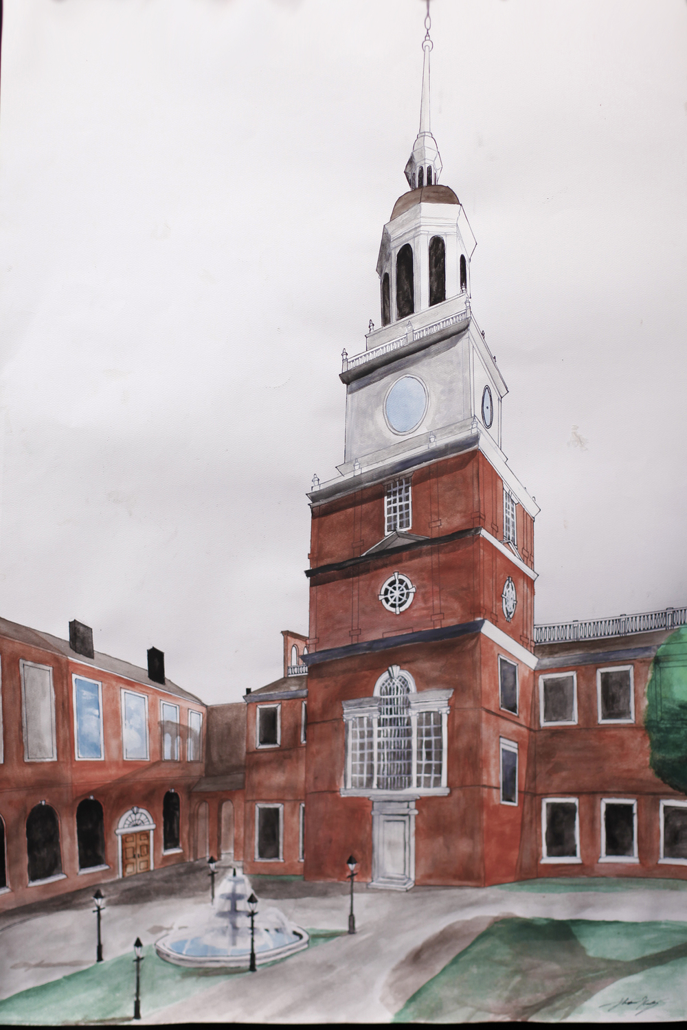 Independence Hall Experience front