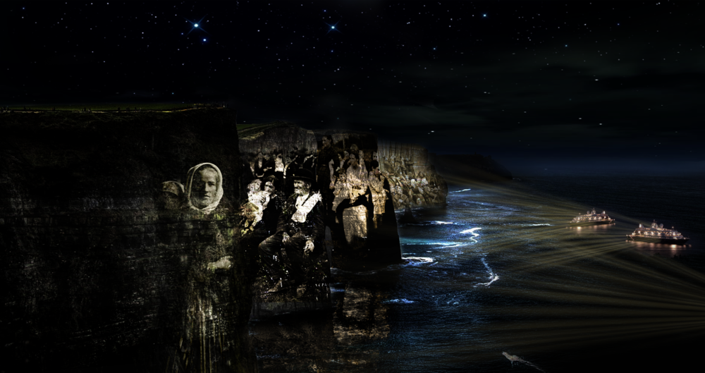 Irish Immigration Scene 6