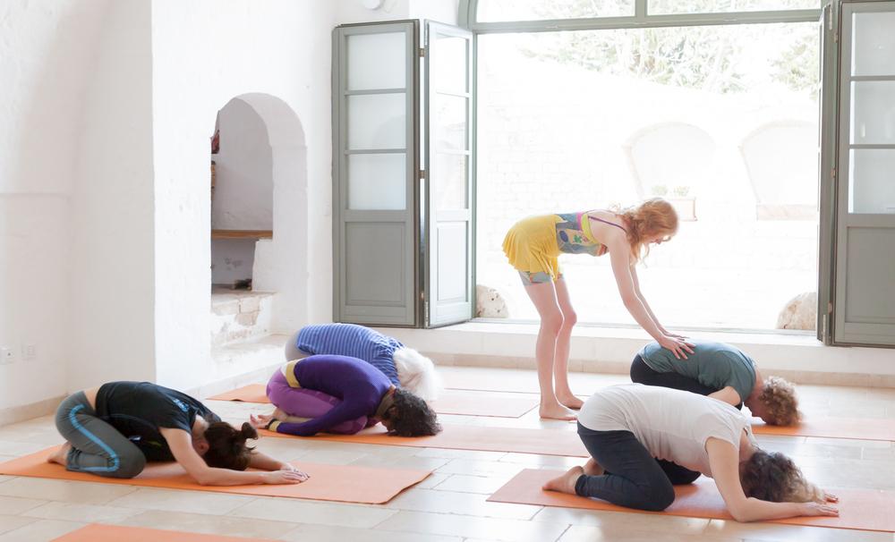 Commission: Yoga - Specialist Holidays - Masseria della Zingara - Puglia, Italy