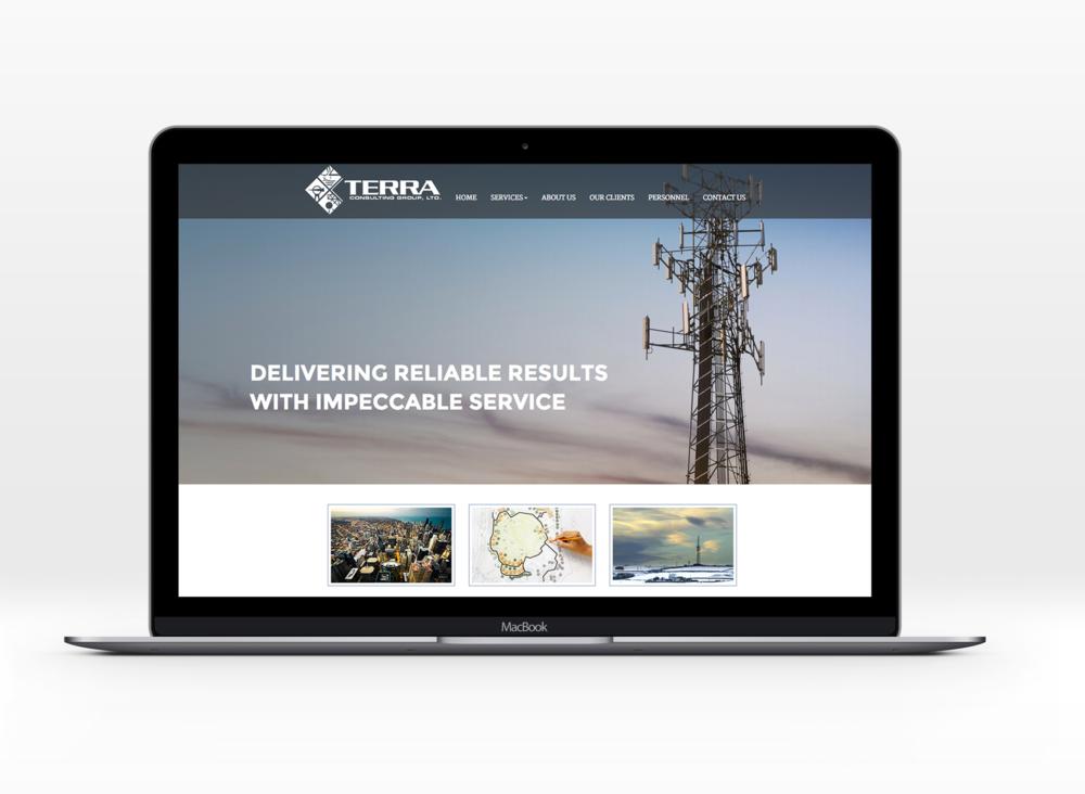 Terra's snazzy new website