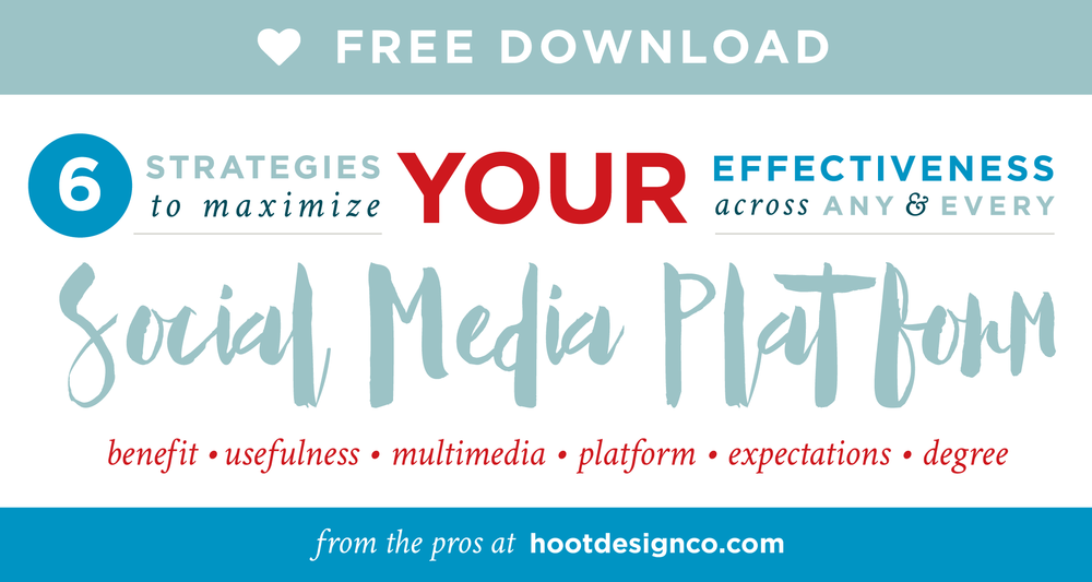 How to maximize your social media posts across all platforms – 6 strategies – and a downloadable checklist! Woop woop!