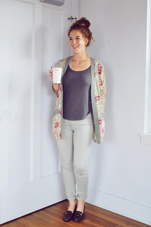 Kimono: Similar Here, Pants: Similar Here, Shoes: Similar Here