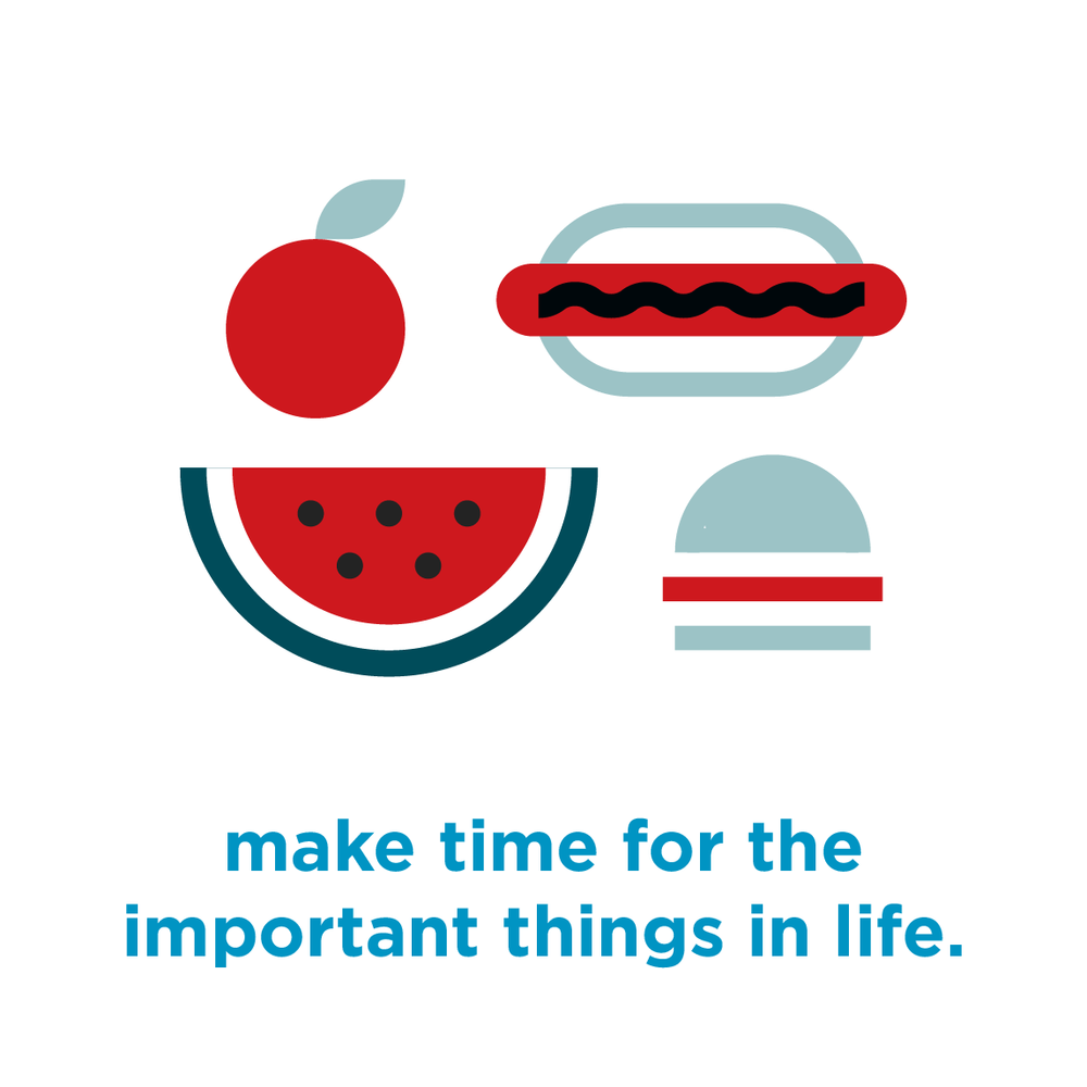 Make time for the important things in life | Hoot Design Co.