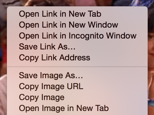 "After you find an image you want to use, right click and choose ""Copy Image URL."""