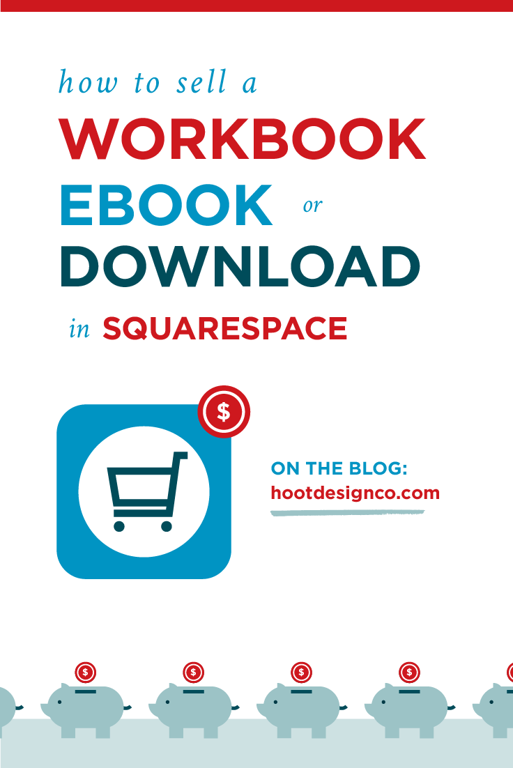 Selling digital products in Squarespace is SO EASY. Workbooks, ebooks, digital bundles, or more take about 5 seconds to set up. Here's how!