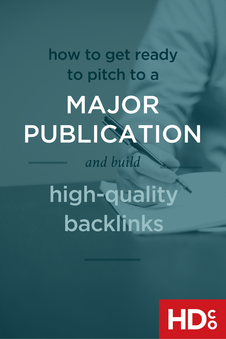 Pitch your content to big publications (publishers with huge traffic) confidently– by getting prepared and building up that confidence. Here's how to get yourself ready for big pitches. | Hoot Design Co.