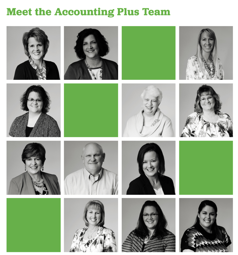 This is just one part of the Meet the Team we made for one of our clients, an accounting agency here in Columbia, MO. Their full team has 20+ members!