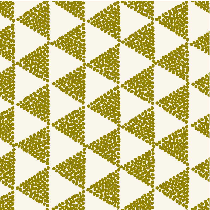 Green Triangle Pattern