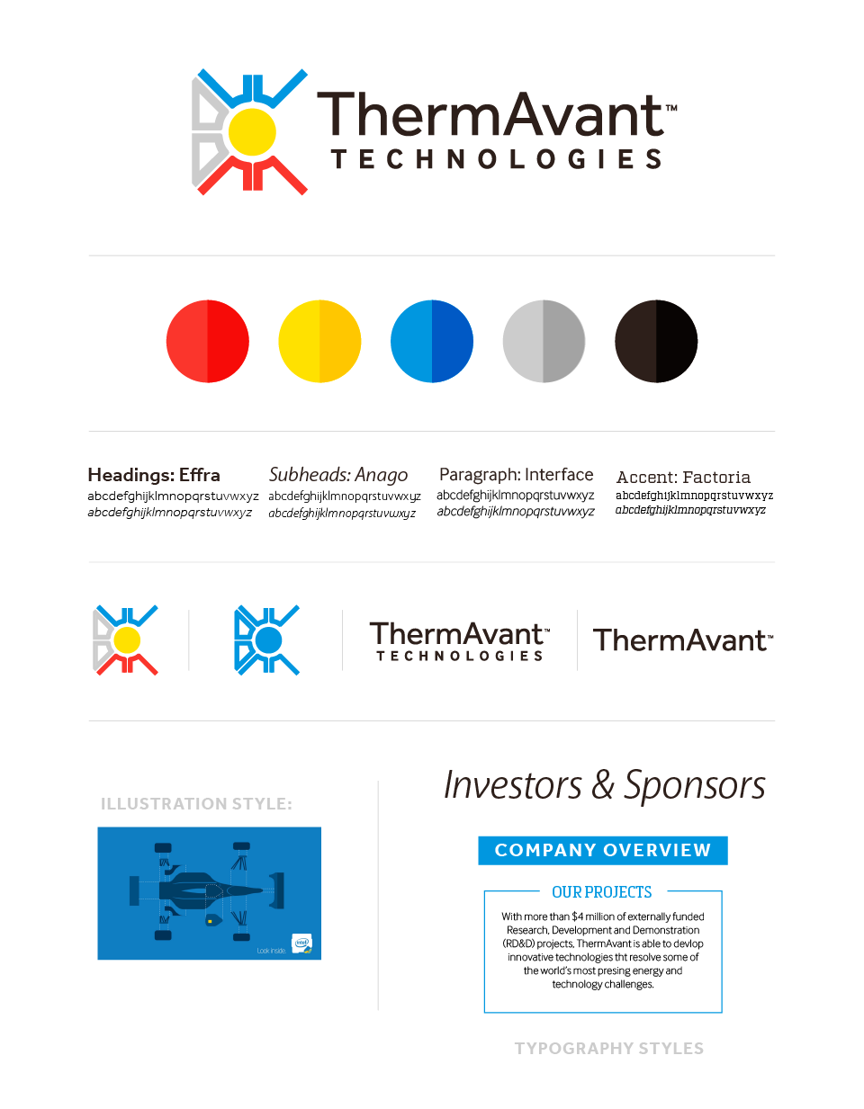 Branding and logo for ThermAvant Technologies | Hoot Design Co.