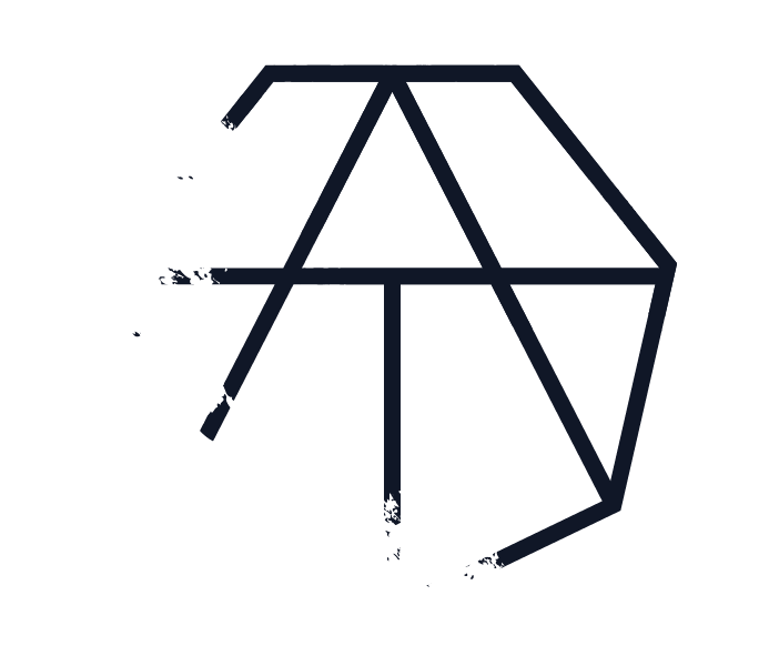 Black Distressed Icon