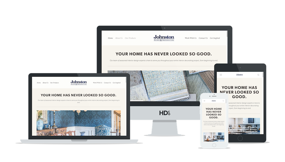 Responsive website design Columbia MO for JPD | Hoot Design Co.