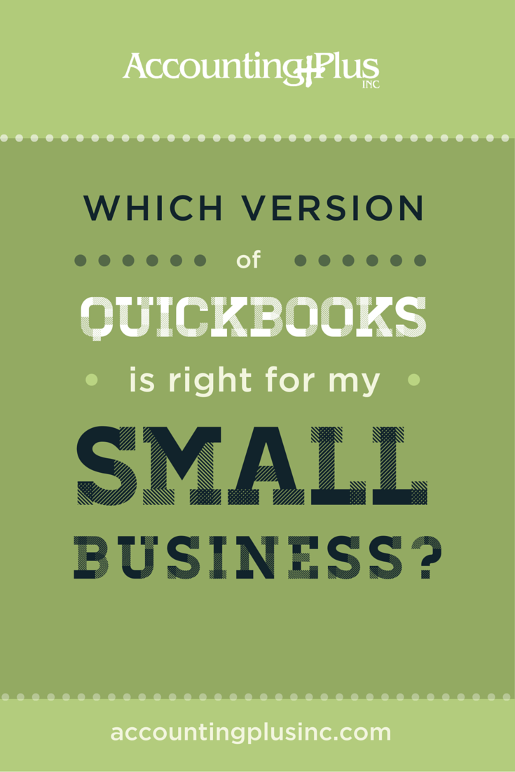 Content marketing – Which version of Quickbooks is right for my small business?