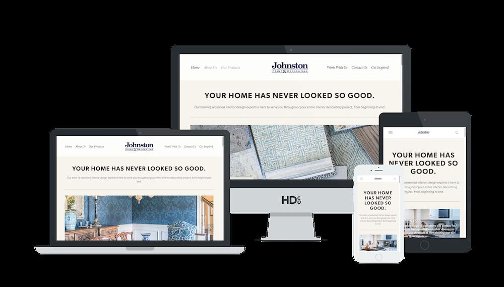 Responsive Squarespace website design for small businesses   Hoot Design Co.