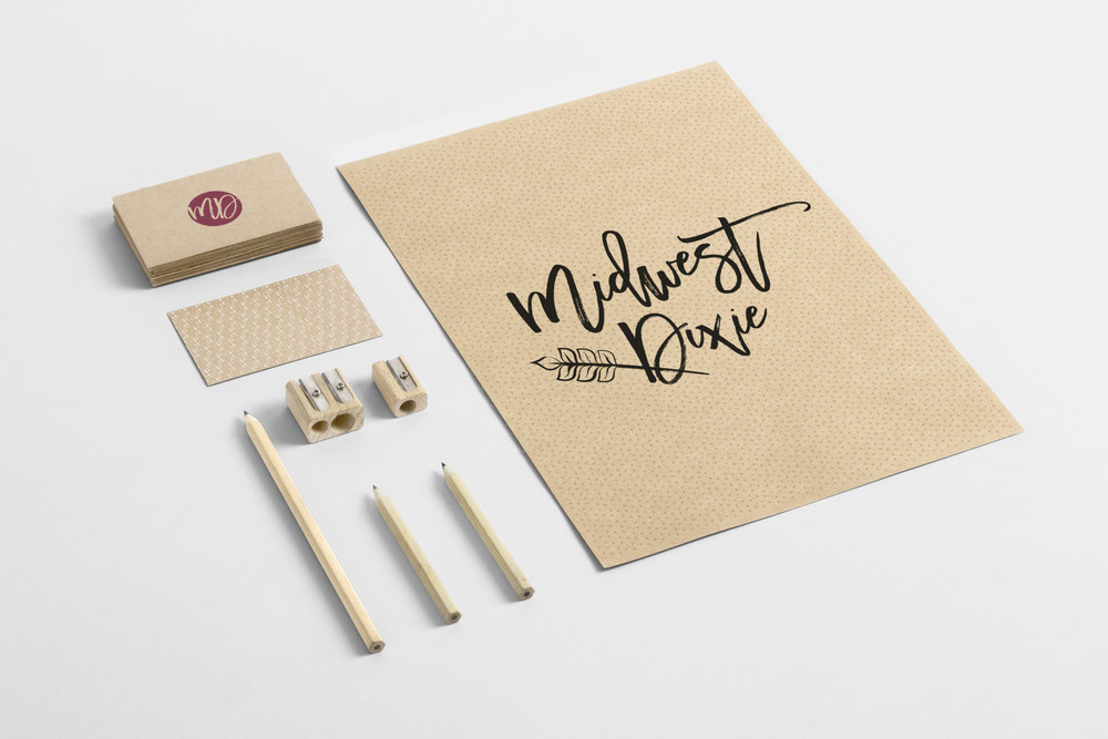 Print collateral for Midwest Dixie | Hoot Design Co.