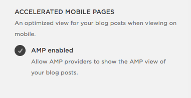 How to enable AMP in Squarespace | Hoot Design Co.