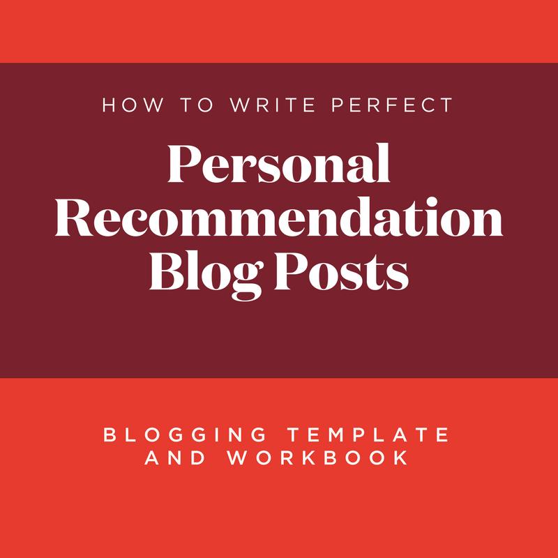 blogging template and workbook personal recommendation blog posts hoot design co web. Black Bedroom Furniture Sets. Home Design Ideas