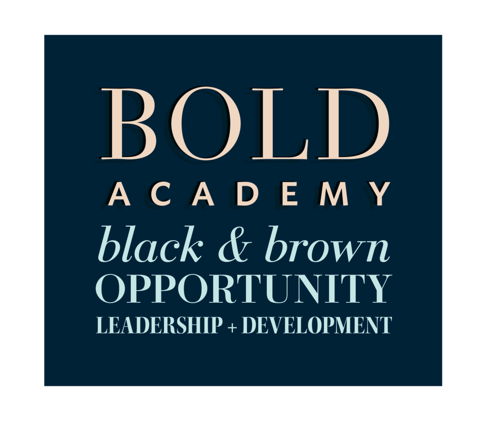Logo design and name creation for BOLD Academy | Hoot Design Co.