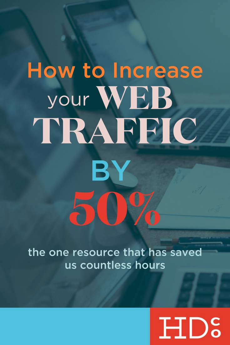 This tool is awesome. We've increased our web traffic by huge numbers in just the past month, and one of the biggest reasons is THIS. | Hoot Design Co.