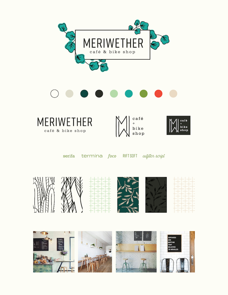 Meriwether's final brand board