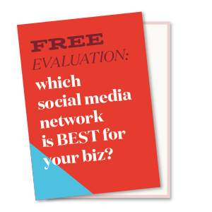 Get a free social media evaluation to find out which social media network is right for your business. | Hoot Design Co.