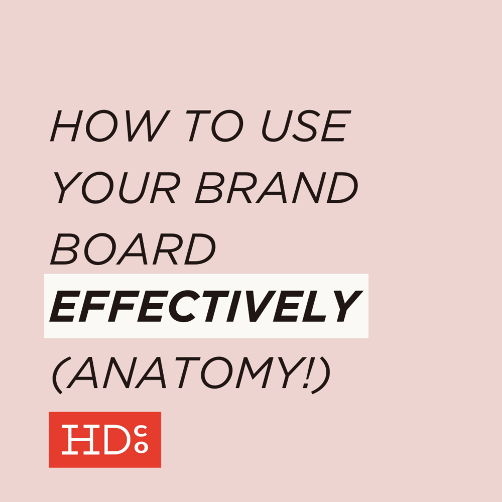 How to use your brand board effectively anatomy hoot design how to use your brand board effectively anatomy hoot design co web design branding and marketing in columbia mo biocorpaavc Gallery
