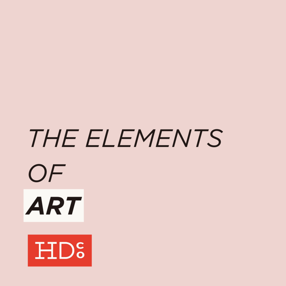 What Are The Different Elements Of Art : The elements of art hoot design co web