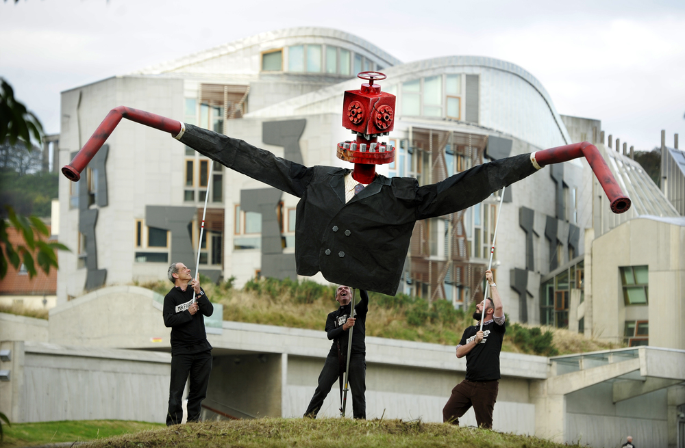 FREE PIC- Mr Fracking at Scottish Parliament 02.jpg