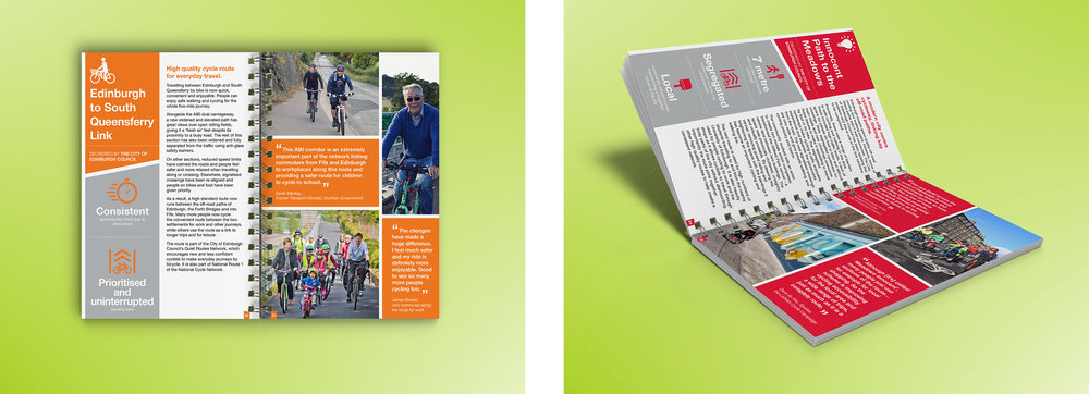 The digital showcase we developed for Community Links Plus received very positive feedback, fulfilling its purpose as a promotional item and advertisement for Sustrans' work.