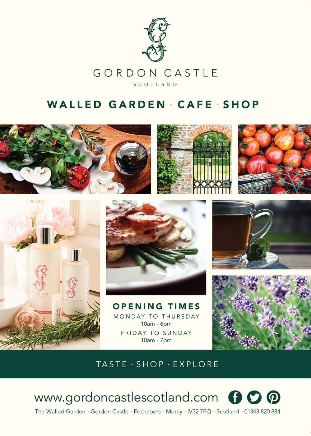 Giles Lawson Johnston, COO, The Walled Garden Trading Co Ltd: