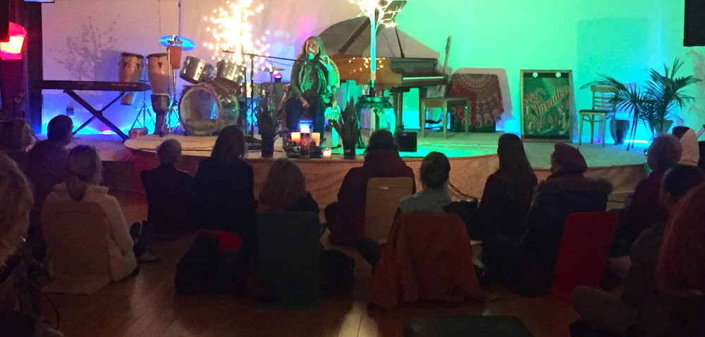 Origin Group with Mary Magdalene (as channeled by Flo Aeveia Magdalena) hosted at Paradiso, 903 Early Street, Santa Fe, New Mexico, Tues, Feb 7, 2017.