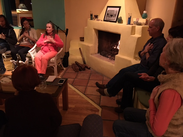 HeartThread fireside chat with the local HeartThread practitioners and trainers, hosted by SurfinYourSoul in their Bernalillo studio Thurs, Feb 9, 2017.
