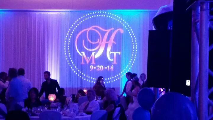 Lighting name monogram