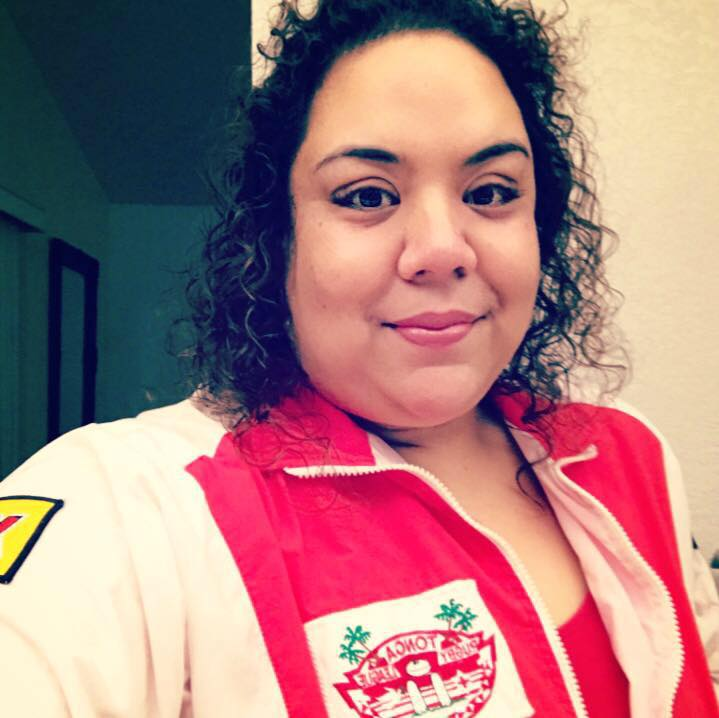 The REAL Sabrina Monet. Sporting her Mate Ma'a Tonga jacket that she's had since 1994 because she's been a fan from birth and her dad was the Captain of the 1969 team that first traveled to NZ to defeat the Maori All Blacks. All women are unique and cannot be replicated, but you especially can't impersonate a Tongan woman. We are worth our weight in gold and for me especially, that's a lot. So if you're pretending to be Sabrina Monet, but you're not a 6' Tongan girl with a writing portfolio at the ready, SIT DOWN. This timeline isn't for you. Bye, Felicia!