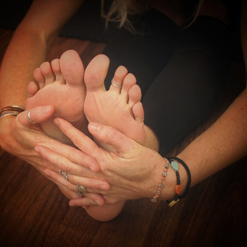 Gentle Hatha:  Hatha is an alignment based practice with emphasis on strength, flexibility, and balance as well as breath control.  Class is great for those who just starting out, anyone with limited mobility, or those just wanting a gentler approach to yoga