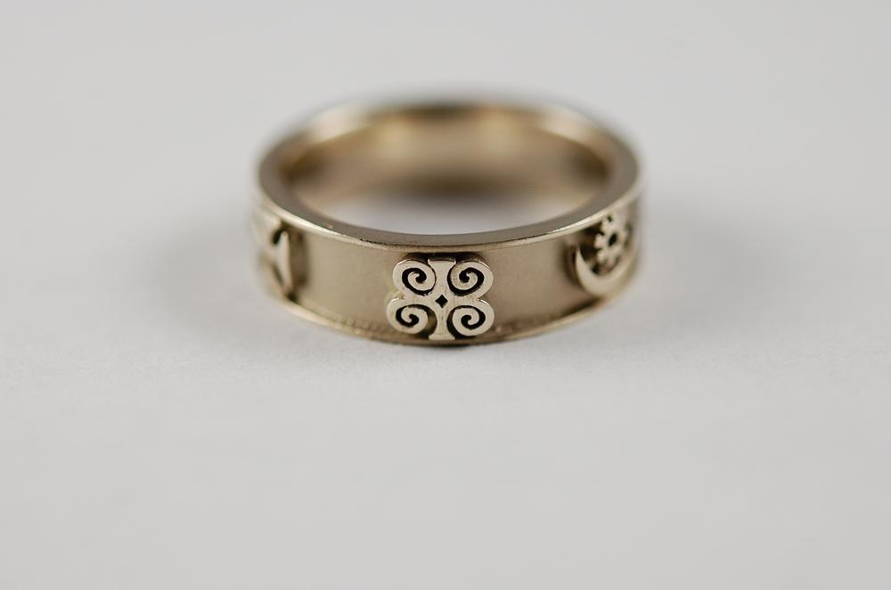 Adinkra Ring